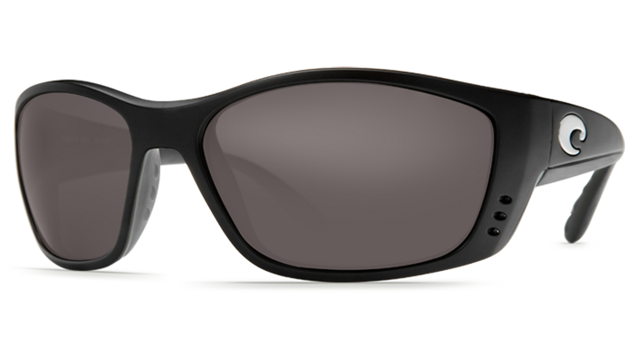 a01d0e9629e2 ... Costa Del Mar Fisch 580G Polarized Sunglasses. Previous. Black Frame &  Grey Lens
