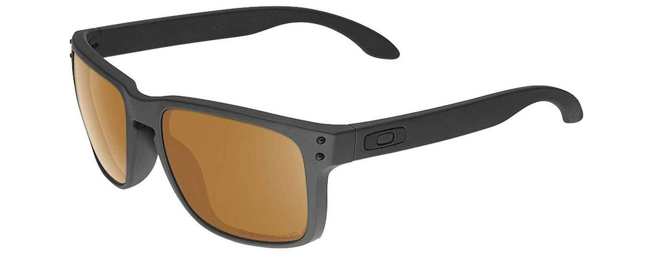 ae994633bf Oakley Designer Sunglasses Holbrook OO9102-98 in Matte Black with ...