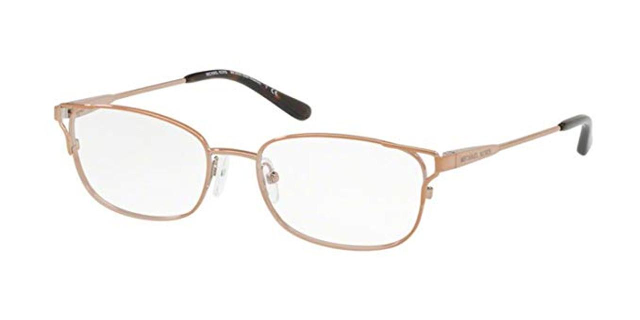 a7a86c149f52 Michael Kors Designer Eyeglasses MK3020-1083-51 in Brown 51mm :: Custom Left  & Right Lens - Speert International