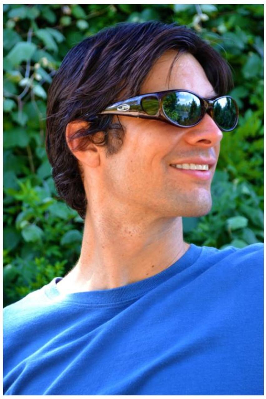 POLARVUE Grey Lens Allure Turquoise Demi