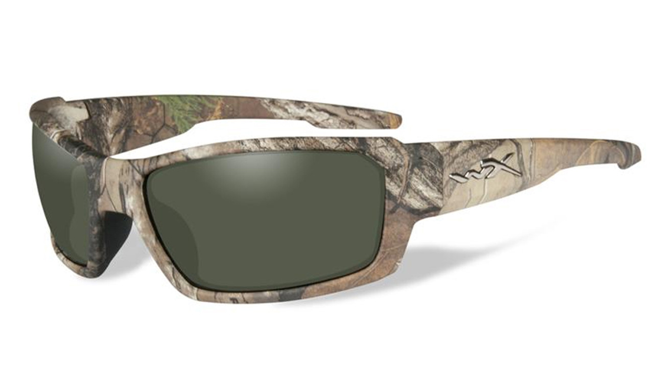 e5d05102557ba Wiley-X High Performance Eyewear Rebel Sunglasses in Real-Tree Camo ...