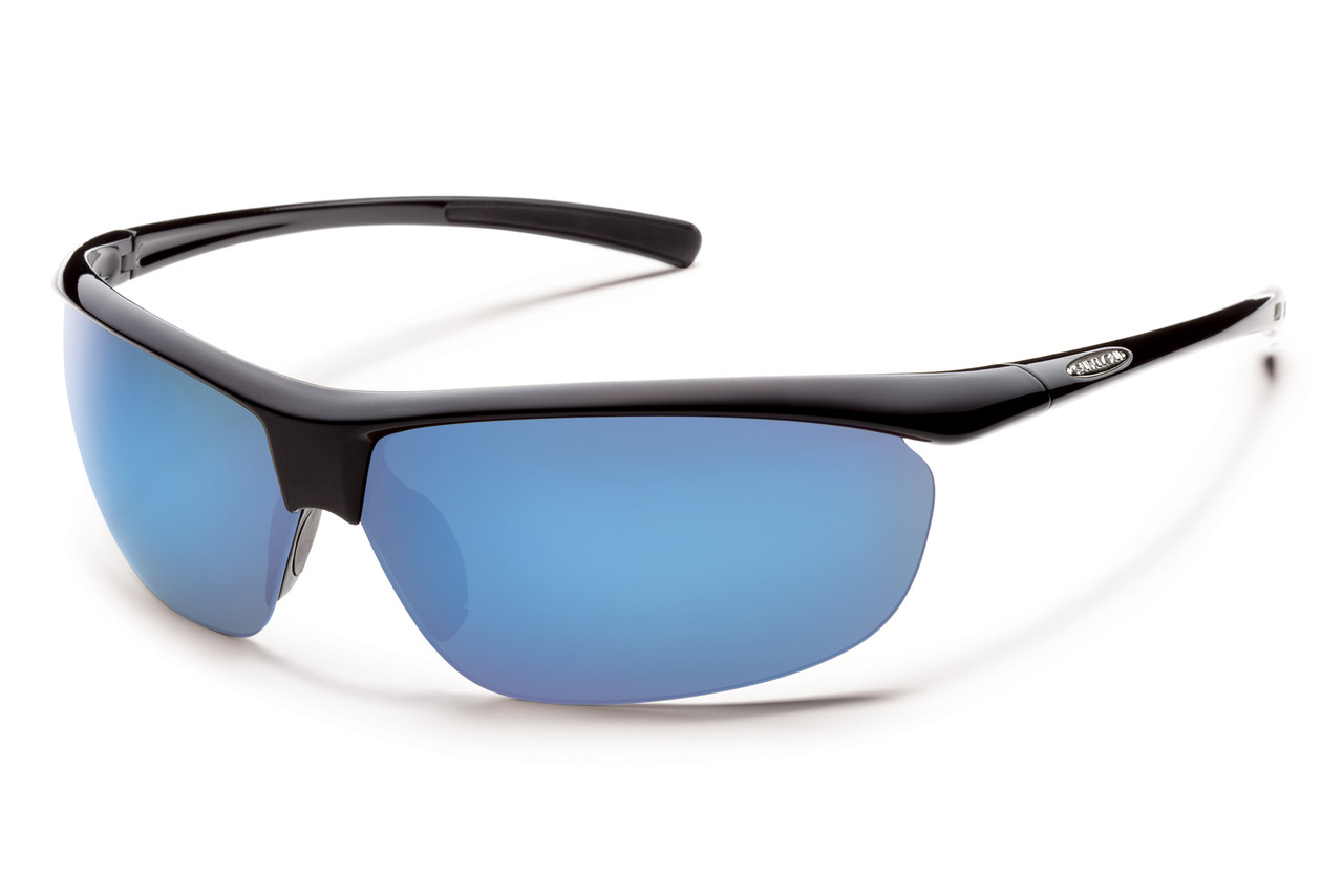 d4b203262d ... Suncloud Zephyr Polarized Sunglasses. Previous. Black   Blue Mirror
