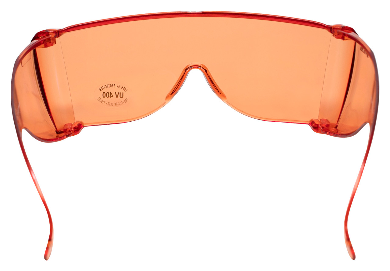 CALABRIA 3000S Economy Fitover with UV PROTECTION IN ORANGE