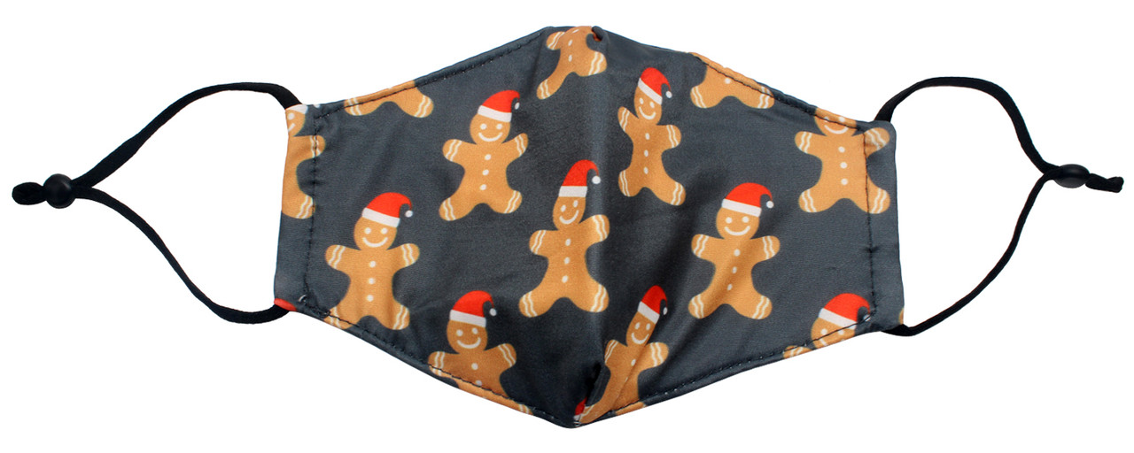 !Calabria Kids Durable Cotton Lining Christmas Face Mask Built In Filter Pocket