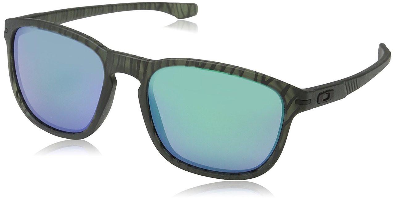 a63af16a0dc83 Oakley Designer Sunglasses Enduro in Matte Olive Ink   Jade Iridium Lens  (OO9223-28