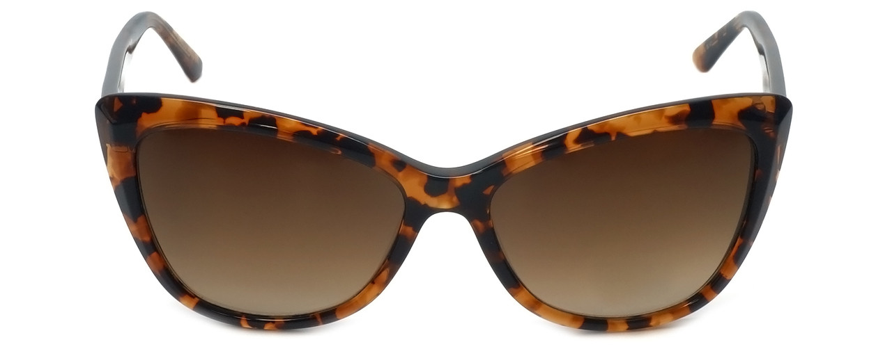 105be993449 Vera Wang Designer Sunglasses V433 in Kyoto Tortoise Frame   Brown Gradient  Lens 57mm