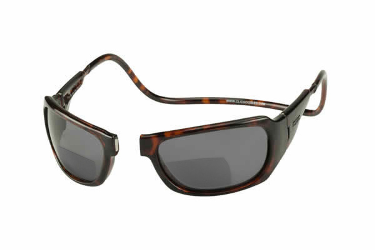 08edcf40b7 Clic Monarch Tortoise Polarized Bi-Focal Reading Sunglasses - Speert ...