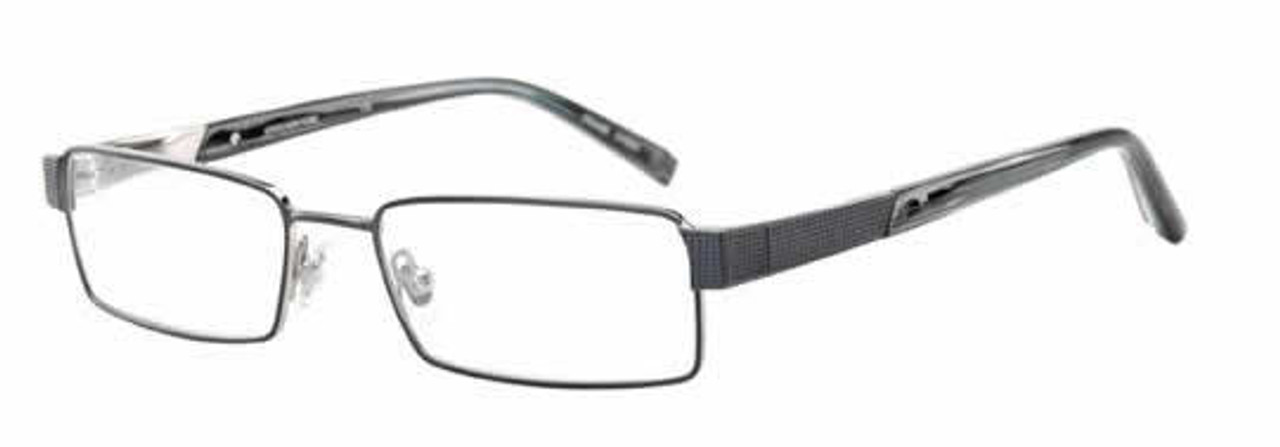 Jones New York Designer Eyeglasses J322 Navy :: Custom Left & Right Lens