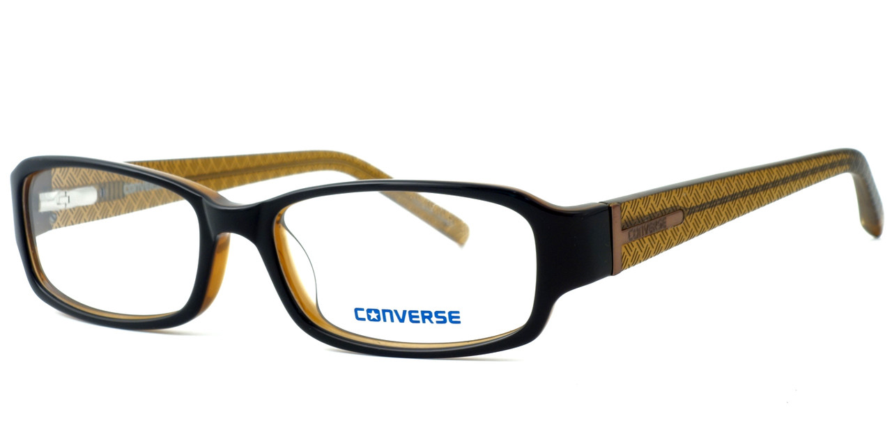 b487a71d2b54 Converse Whats Next Designer Eyeglasses in Brown    Custom Left   Right Lens