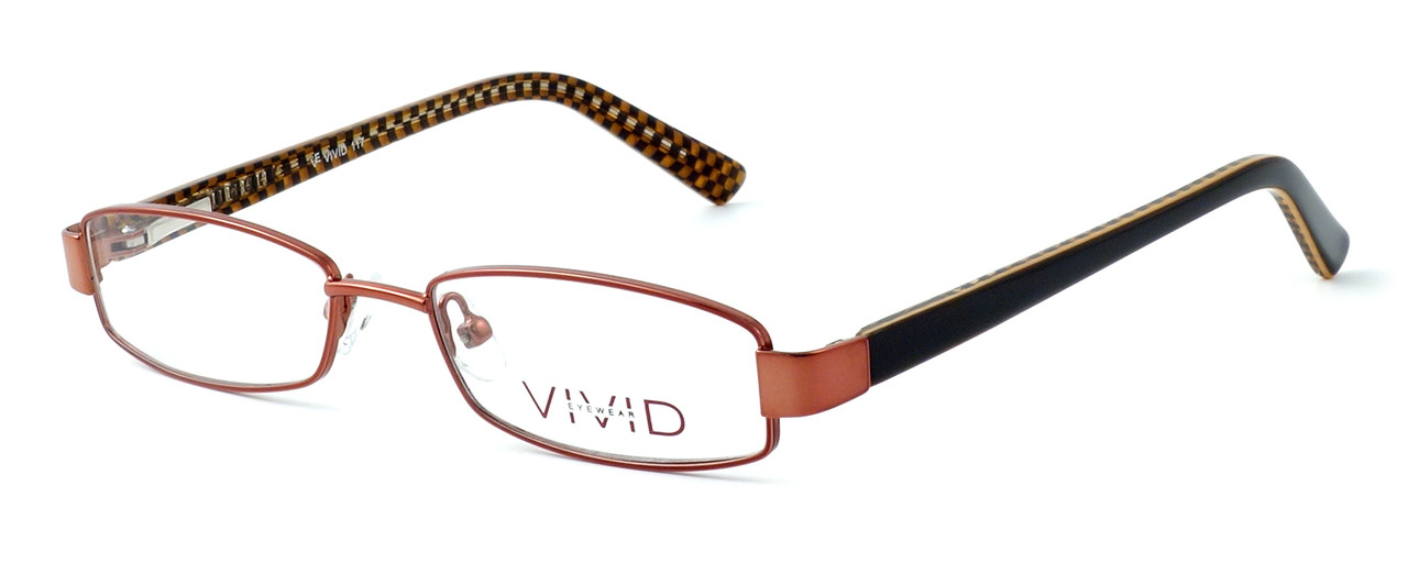 9d51f928cd Calabria Viv Kids 117 Designer Eyeglasses in Brown    Custom Left   Right  Lens