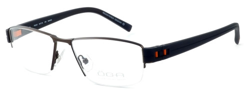 OGA Designer Eyeglasses 7922O-MM050 in Brown & Orange :: Custom Left & Right Lens