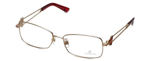 Swarovski Designer Eyeglasses Architect SK5020-28A in Gold :: Custom Left & Right Lens