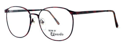 Fashion Optical Designer Eyeglasses E126 in Russet 56mm :: Custom Left & Right Lens