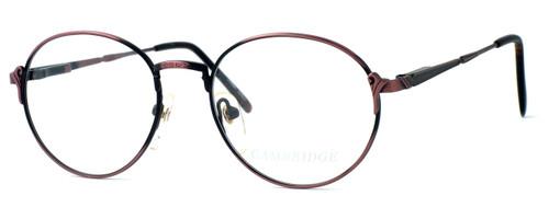 Regency International Designer Eyeglasses Cambridge in Antique Rose 52mm :: Custom Left & Right Lens