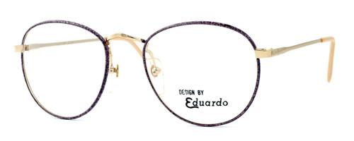 Regency International Designer Eyeglasses Ashley in Gold Pink 54mm :: Custom Left & Right Lens