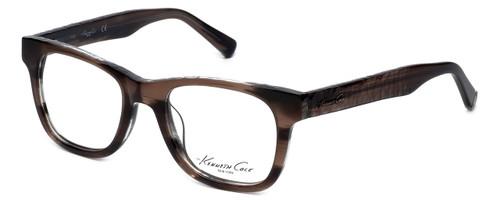 Kenneth Cole Designer Eyeglasses KC0222-062 in Brown :: Custom Left & Right Lens