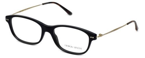 Giorgio Armani Designer Eyeglasses AR7007-5017 52mm in Black :: Custom Left & Right Lens