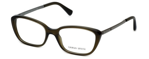 Giorgio Armani Designer Eyeglasses AR7012-5030 52mm in Olive :: Custom Left & Right Lens