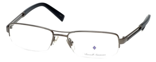 Argyleculture Designer Eyeglasses Brecker in Gunmetal :: Custom Left & Right Lens