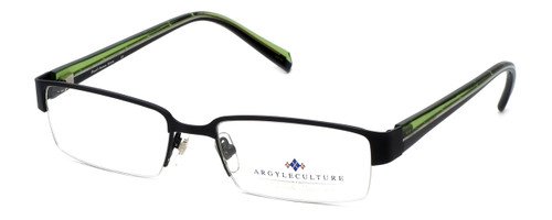 Argyleculture Designer Eyeglasses Bowie in Black :: Custom Left & Right Lens
