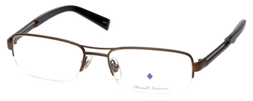 Argyleculture Designer Eyeglasses Brecker in Brown :: Custom Left & Right Lens