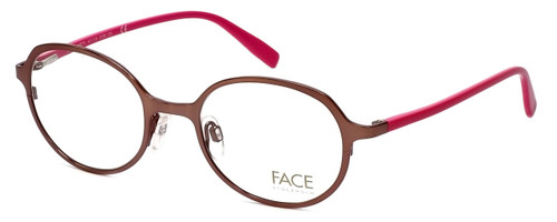 FACE Stockholm Variety 1319-5109 Designer Eyeglasses in Brown Pink :: Custom Left & Right Lens