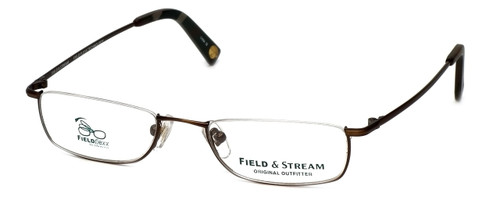 Field & Stream Designer Eyeglasses FS012 in Brown :: Custom Left & Right Lens