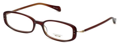 Oliver Peoples Designer Eyeglasses Chrisette SISYC in Burgundy 49mm :: Custom Left & Right Lens