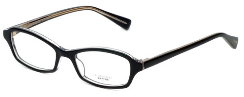 Oliver Peoples Designer Eyeglasses Cylia BKCRY in Black Crystal 45mm :: Custom Left & Right Lens