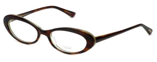 Oliver Peoples Designer Eyeglasses Dexi H in Havana 50mm :: Custom Left & Right Lens