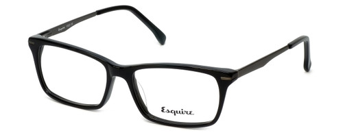 Esquire Designer Eyeglasses EB1500 in Black 53mm :: Custom Left & Right Lens