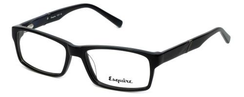 Esquire Designer Eyeglasses EQ1507 in Black 54mm :: Custom Left & Right Lens