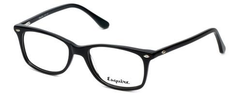 Esquire Designer Eyeglasses EQ1508 in Black 51mm :: Custom Left & Right Lens