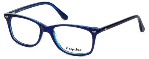 Esquire Designer Eyeglasses EQ1508 in Cobalt 51mm :: Custom Left & Right Lens