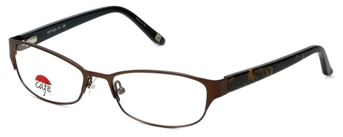 Silver Dollar Designer Eyeglasses Café 3152 in Camel 52mm :: Custom Left & Right Lens