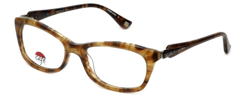 Silver Dollar Designer Eyeglasses Café 3161 in Tortoise 52mm :: Custom Left & Right Lens