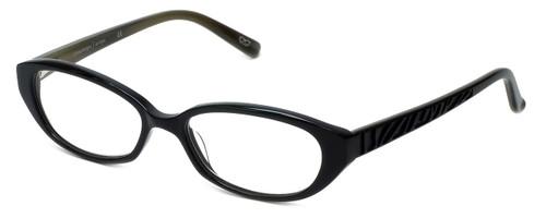 Cinzia Designer Eyeglasses CBR1 C1 in Black 51mm :: Custom Left & Right Lens