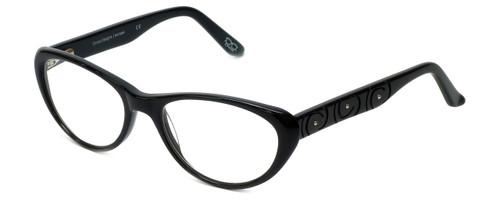 Cinzia Designer Eyeglasses CBR06 in Black 53mm :: Custom Left & Right Lens