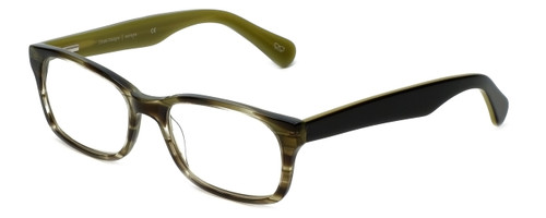 Cinzia Designer Eyeglasses Mod Cons C1 in Oliver Striped 51mm :: Custom Left & Right Lens