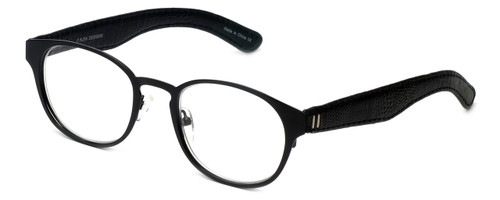 Cinzia Designer Eyeglasses The Innovator C1 in Black 49mm :: Custom Left & Right Lens