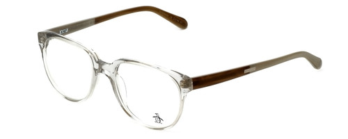 Original Penguin Designer Eyeglasses The Collison in Crystal 49mm :: Custom Left & Right Lens