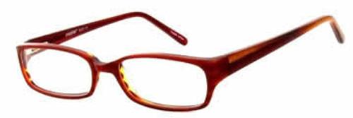 Seventeen 5323 in Red Designer Reading Glasses