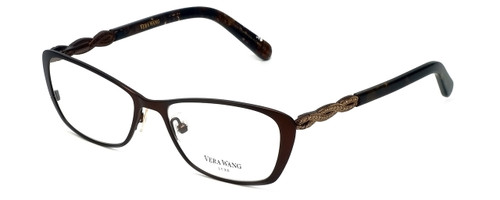 Vera Wang Designer Eyeglasses Spica in Brown 50mm :: Custom Left & Right Lens