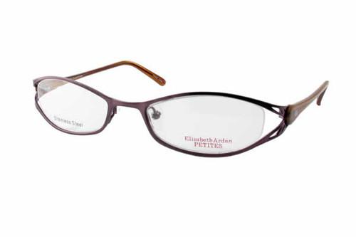 Elizabeth Arden Designer Eyeglasses 59 in Plum :: Rx Single Vision