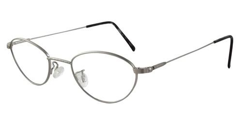 Marcolin Designer Eyeglasses 6395 45 mm in Silver :: Rx Single Vision
