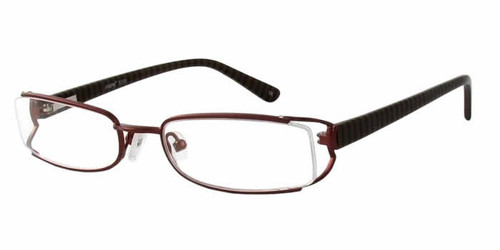 Seventeen Designer Eyeglasses 5308 in Brown :: Rx Single Vision