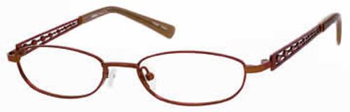 Seventeen Designer Eyeglasses 5334 in Brown :: Rx Single Vision