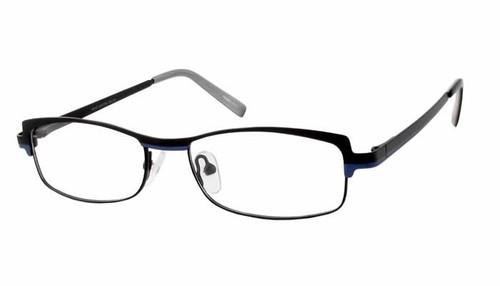 Marc Hunter Designer Eyeglasses 7224 in Matte Black :: Rx Single Vision