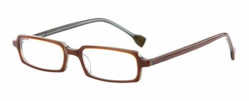 Ink Eyeglasses Contour in Mocha Sage :: Rx Single Vision