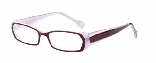 Ink Eyeglasses Duotone in Violet :: Rx Single Vision
